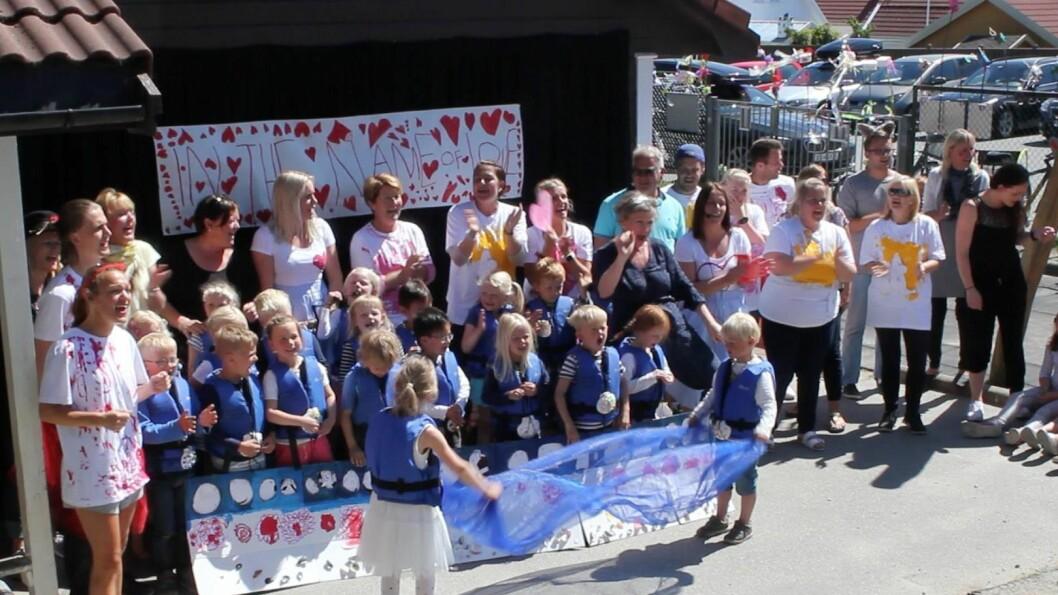 Børesvingen barnehage i Stavanger har naturprofil og satser på språk og bevegelse. De er en åtte nominerte barnehagen i Norge som kjemper om prisen