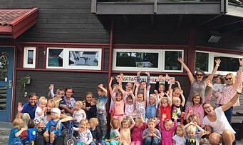 ÅRETS BARNEHAGE 2016: «Visjonen er lek, læring og lykke»