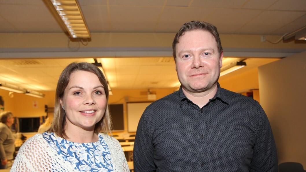 Leder av Foreldreutvalget for barnehager, Marie Skinstad-Jansen og daglig leder i Smedhusåsen barnehage på Rygge, Royne K. Berget er enige om at godt foreldresamarbeid er viktig.