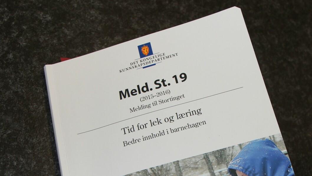 Torsdag 28. april er det åpen høring iStortingets familie- og kulturkomité om Stortingsmelding 19.
