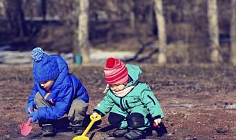 Arbeidsledige tar barn ut av barnehagen