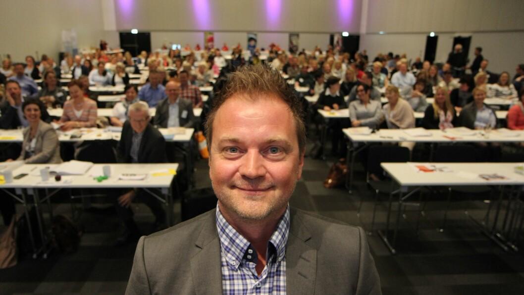 Styreleder i PBL, Eirik Husby.