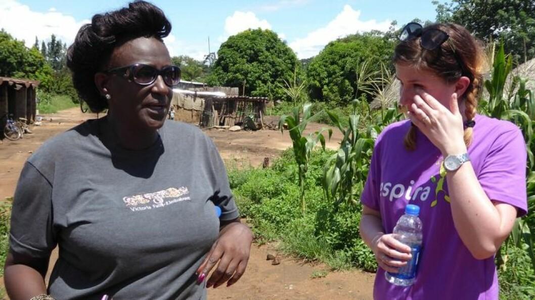 Turen til Zimbabwe har bydd på flere sterke inntrykk.