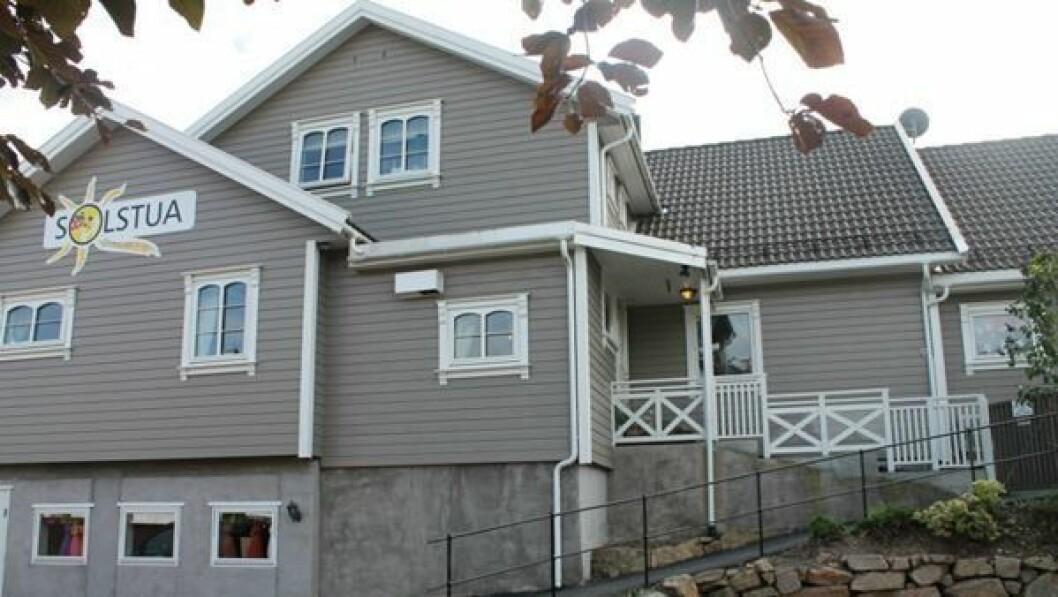 Solstua Norlandia barnehage ligger i Vanse i Farsund kommune.