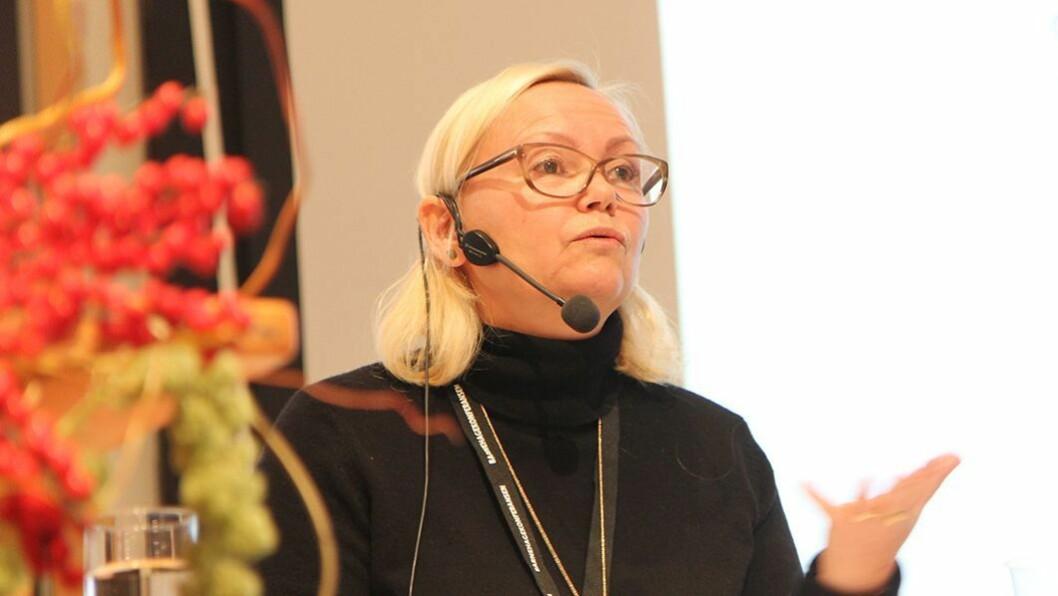 Ikke skoleklar: Førskolebarna skal ikke bruke det siste året i barnehagen på å passe inn i en skoleklar form, sier Rammeplanutvalgets leder, Elin Eriksen Ødegaard.