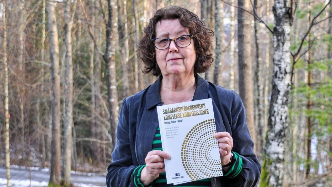 – Vi prøver å gi noen andre innfallsvinkler til læringsbegrepet, forteller dosent i pedagogikk ved Høgskolen i Østfold Ninni Sandvik.