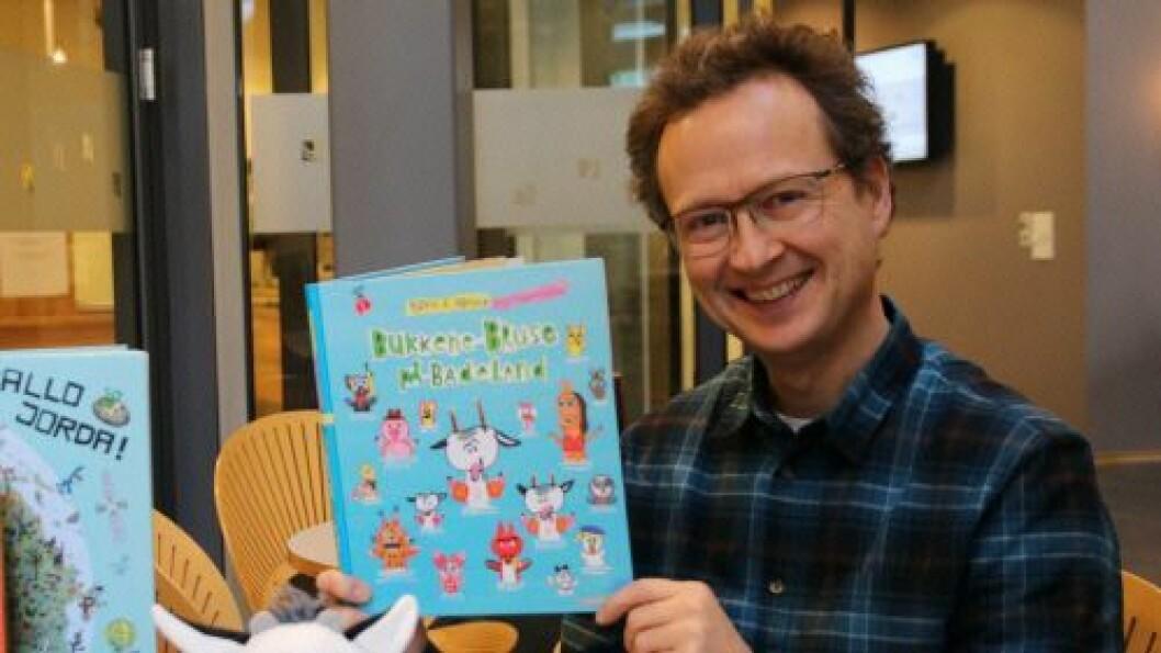 Bjørn F. Rørvik har blant annet skrevet de kjente bøkene om «Bukkene bruse på badeland» og