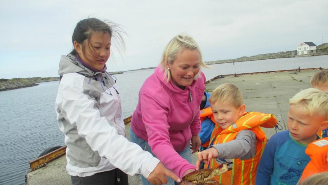 Maurtua Sevland barnehage i Karmøy kommune vant både tittelen Stormester i fisking og hele barnehageklassen. Det er både ansatte og barn veldig stolte av.