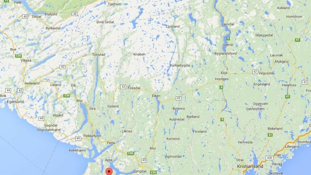 Farsund kommune ligger i Vest-Agder fylke.