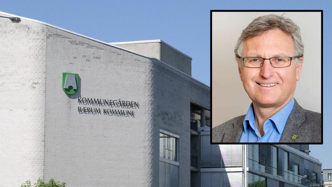 Barnehagesjef Erik Førland i Bærum kommune.