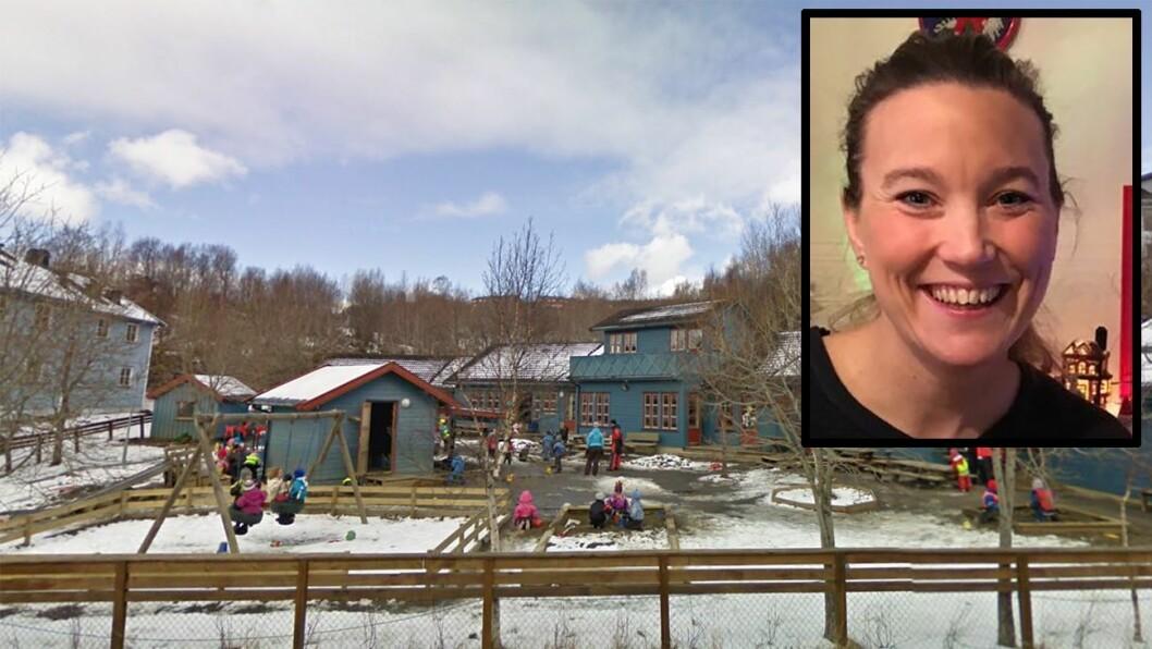 Da tragedien rammet en kollega, gikk Christina Willumsen og de andre ansatte ved Mellommyra barnehage gikk raskt i gang med å samle inn penger.