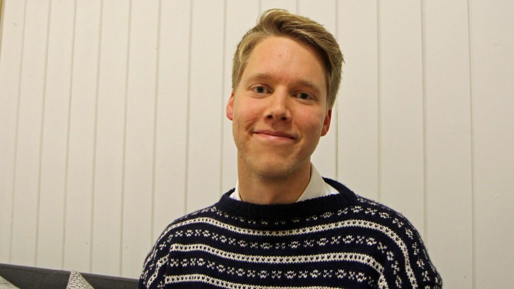 Styrer leder Kjetil Krogstad i Smedbakken FUS barnehage i Oslo.