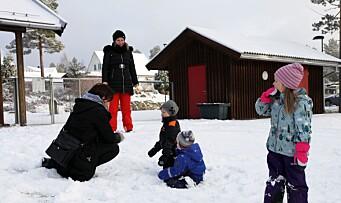 Fascinert av at norske barnehagebarn sover ute