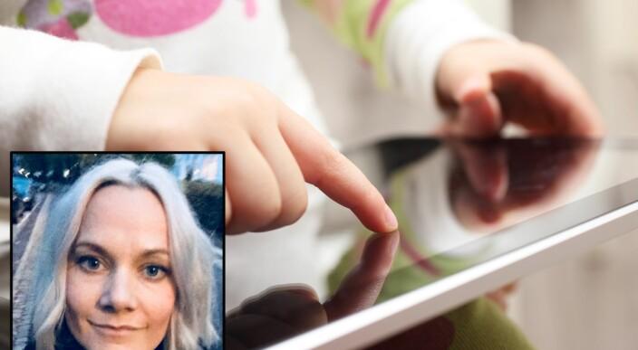 Gir fire gode råd om småbarn og skjermbruk