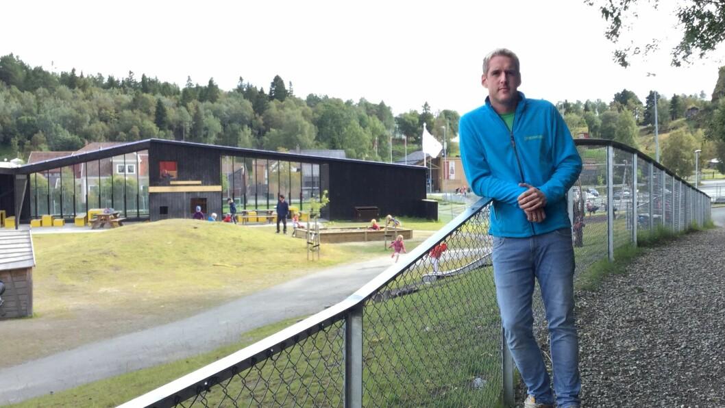 Rune Stølan er pedagogisk leder og tillitsvalgt i Læringsverkstedet Hammersborg barnehage i Trondheim.