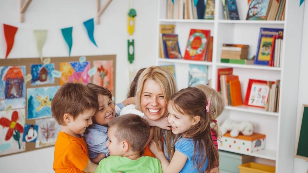 Nærhet til barna i barnehagen er viktig.