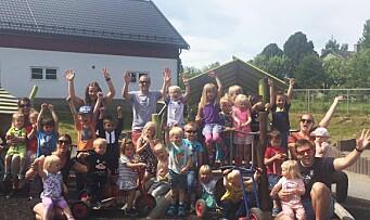 ÅRETS BARNEHAGE 2017: «Barna først!»