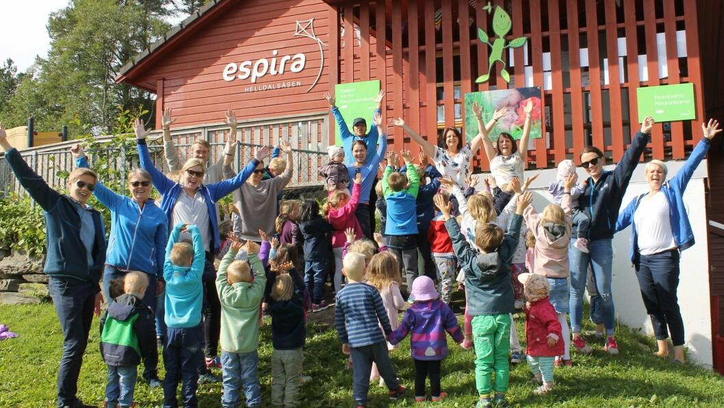 Espira Helldalsåsen er en privat barnehage i Espira Gruppen.