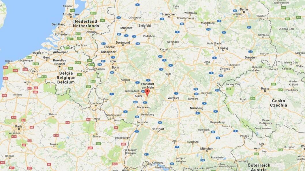Darmstadt, Tyskland.