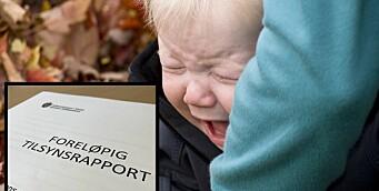 Varsler pålegg: Foreldre klaget på at barnet ikke fikk nok søvn i barnehagen