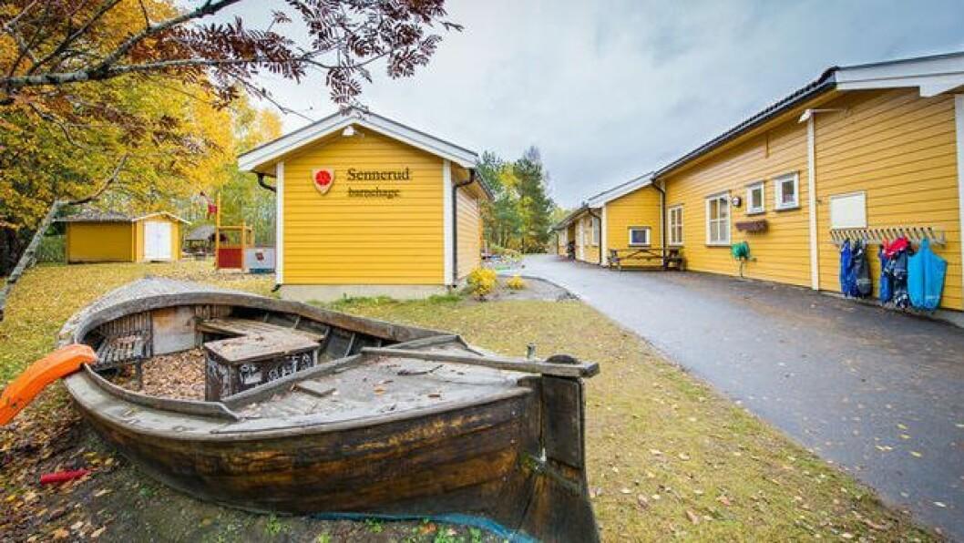 Sennerud barnehage har vært kommunal, men blir nå privat.