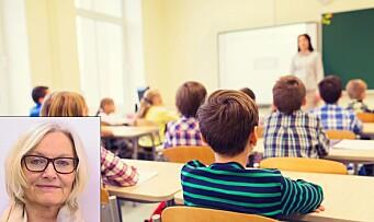 – Har vi glemt at barn må gjøre for å lære?