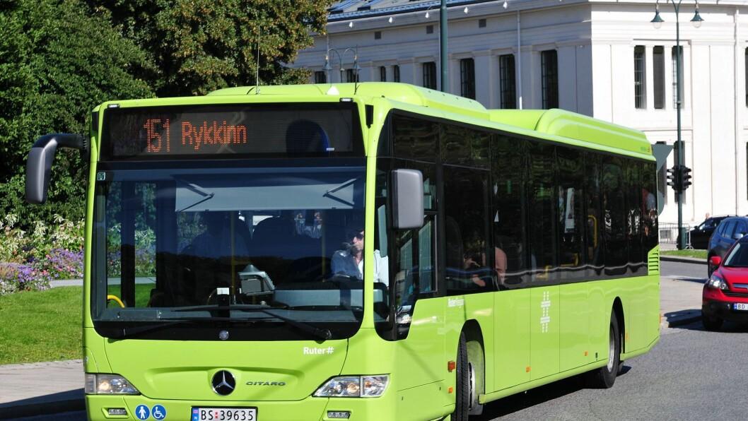 Bussene i Bærum kan få en nedgang i antall barnehager på tur i årene som kommer.