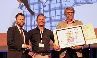 Video: Jan Ingar tok den gjeve prisen