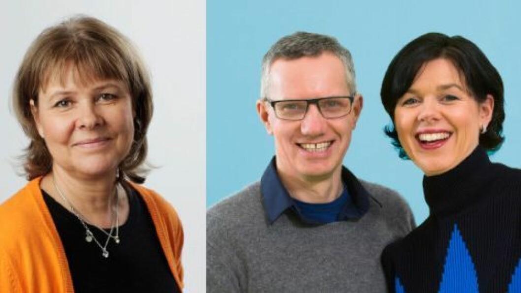 Marita Andersson i Inspira og Hans Jacob Sundby og Randi Sundby i Læringsverkstedet.
