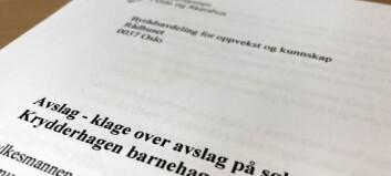 Fylkesmannen stopper privat aktør i Oslo