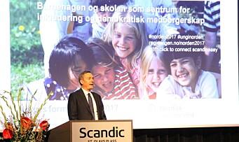 Stor konferanse: Starter kampen mot radikalisering allerede i barnehagen