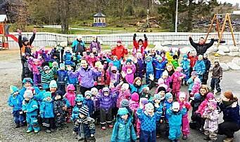 16.300 barn feirer vennskap og tar avstand fra mobbing