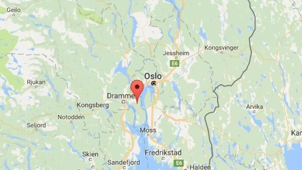 Røyken kommune i Buskerud.