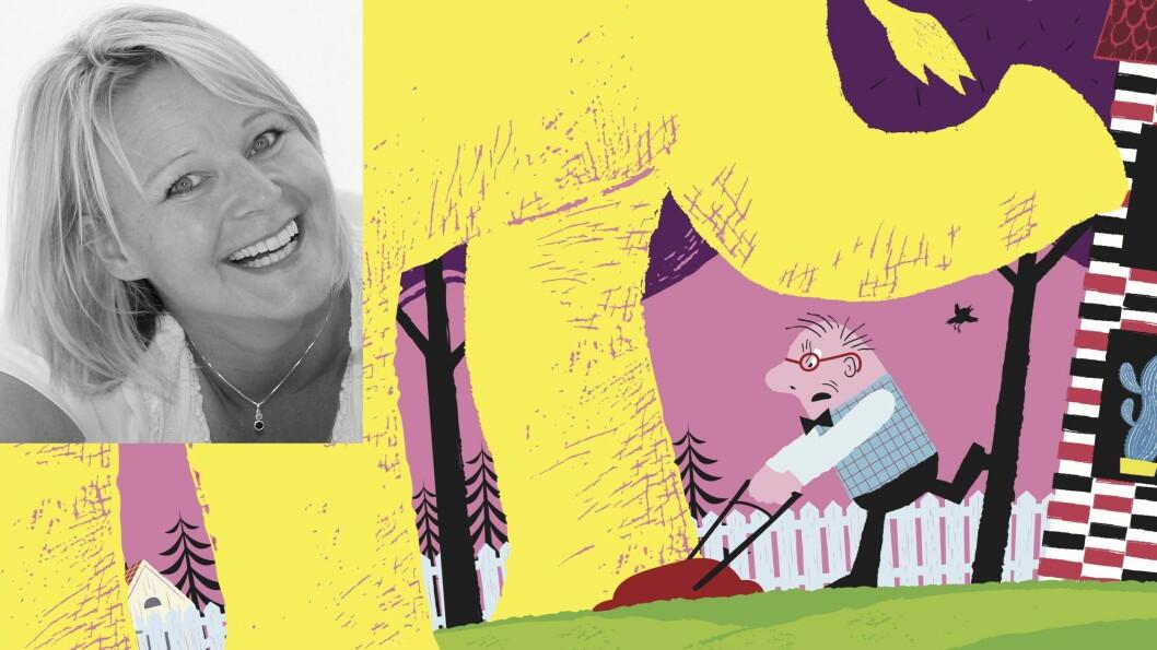 «Herr Hansen får besøk» ble utgitt på Mangschou forlag 25. mars og er forfatter og illustratør Elisabeth Moseng sin andre barnebok.