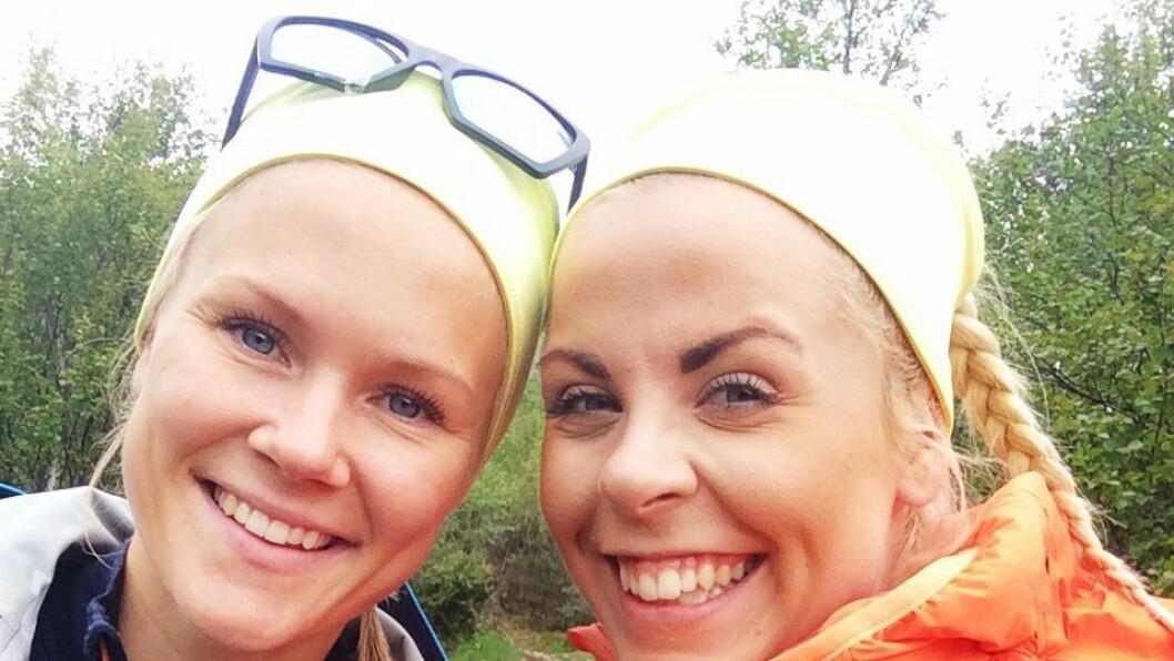Ina Camilla Dahle (24) og Siri-Mari Horvei (23) er barnehagelærerstudenter ved HVL som ønsker å bevare feltkursene. Bla bakover for å se bilder fra kursene ute i det fri.