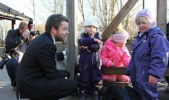 Regjeringen skjerper kravene til bemanning i barnehagene