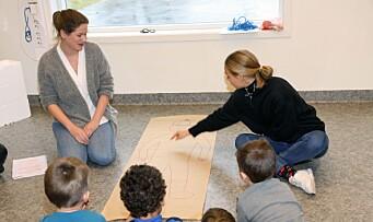 Inviterer studenter fra ulike helseprofesjoner inn i barnehagen
