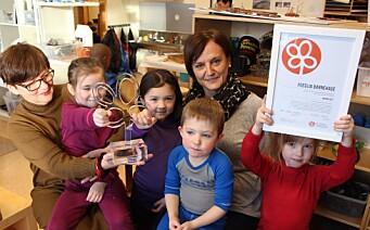 – Kunst, kultur og kreativitet er et av områdene barnehagene jobber minst med