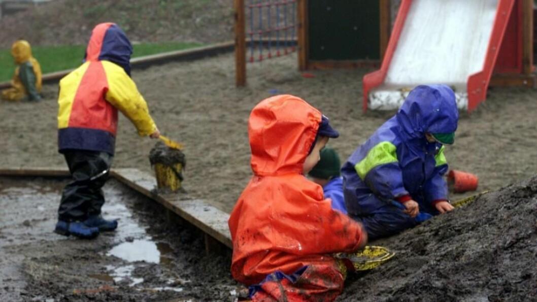 Andelen barn med barnehageplass er fortsatt økende.