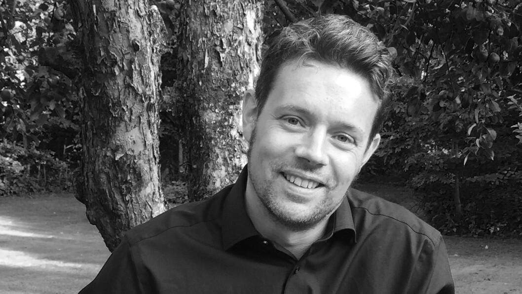 Forfatter Lars Mæhle har skrevet en rekke bøker for barn og ungdom og er nå aktuell med en krimserie for de aller minste.