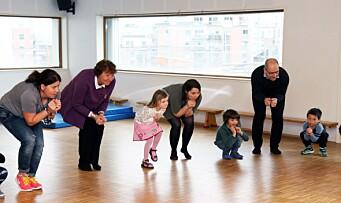 Barnehagedagen 2017: – Det beste er å leke sammen, for da får man venner