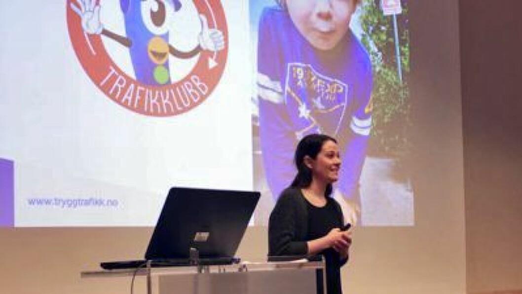 Rådgiver for barnehage og prosjektleder for Barnas Trafikklubb, Marie L. S. Zangenberg.