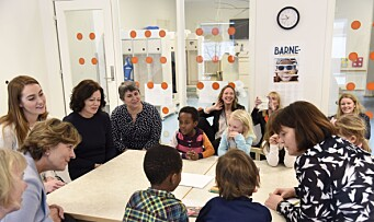 Lanserte nye rettighetskort for barn