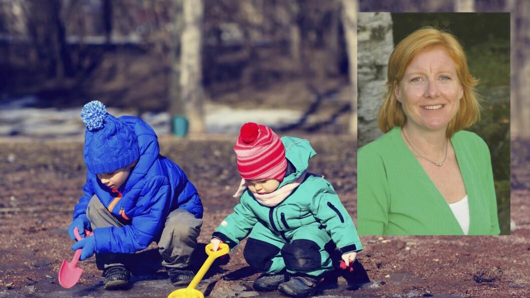 Miriam Lund-Lindokken, barnehagelærerstudent i Smedhusåsen barnehage.
