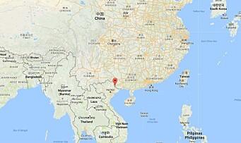 Angrep kinesiske barnehagebarn