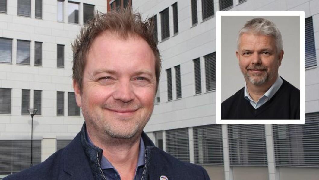 Styreleder Eirik Husby i PBL mener pedagognormen har stor betydning for kvaliteten i barnehagene, mens avdelingsdirektør Erling Lien Barlindhaug i KS (innfelt) mener den kan ramme det øvrige tjenestetilbudet i kommunene.