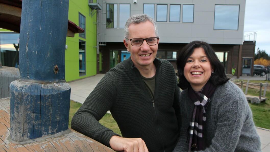 Randi og Hans Jacob Sundby eier og driver Læringsverkstedet, som Solkollen-barnehagene er en del av.