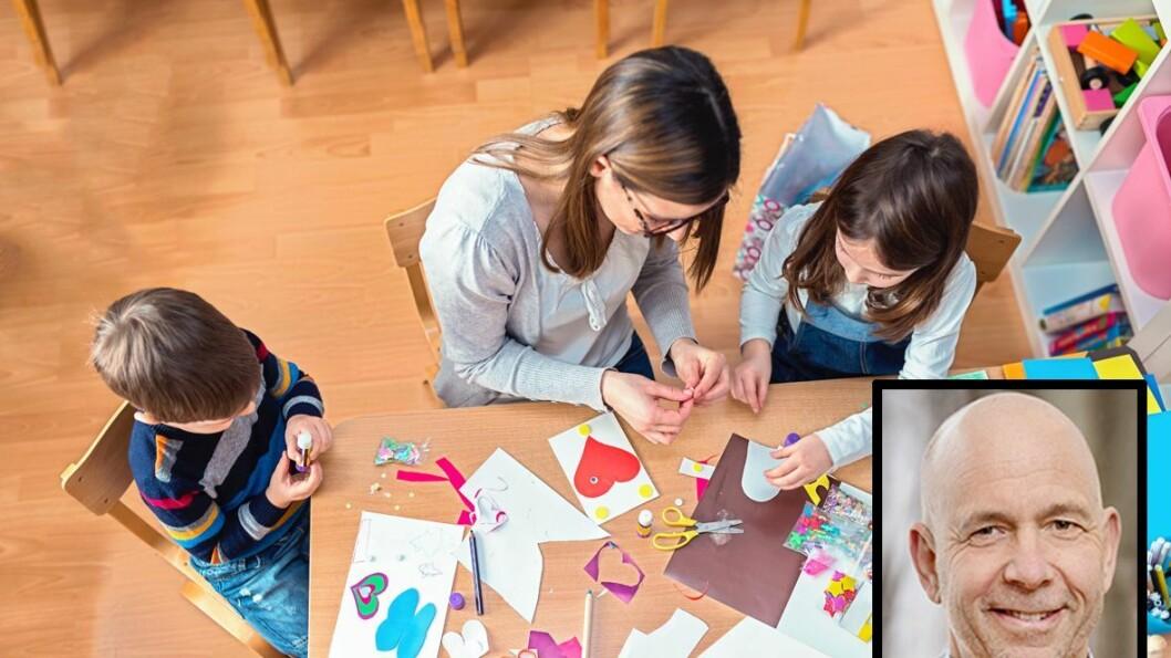 Professor Lars Wichstrøm ved psykologisk institutt ved NTNU leder forskningsprosjektet Tidlig trygg, som følger 1000 barn født i 2003 og 2004 fram til de er unge voksne.