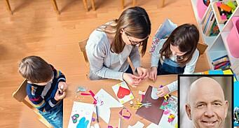 Barn i større grupper i barnehagen får mer problemer på skolen