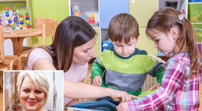 – Barn liker bøker som er laget i sin egen tid